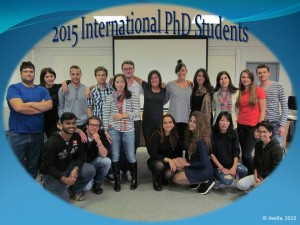 2015 PhD Students group
