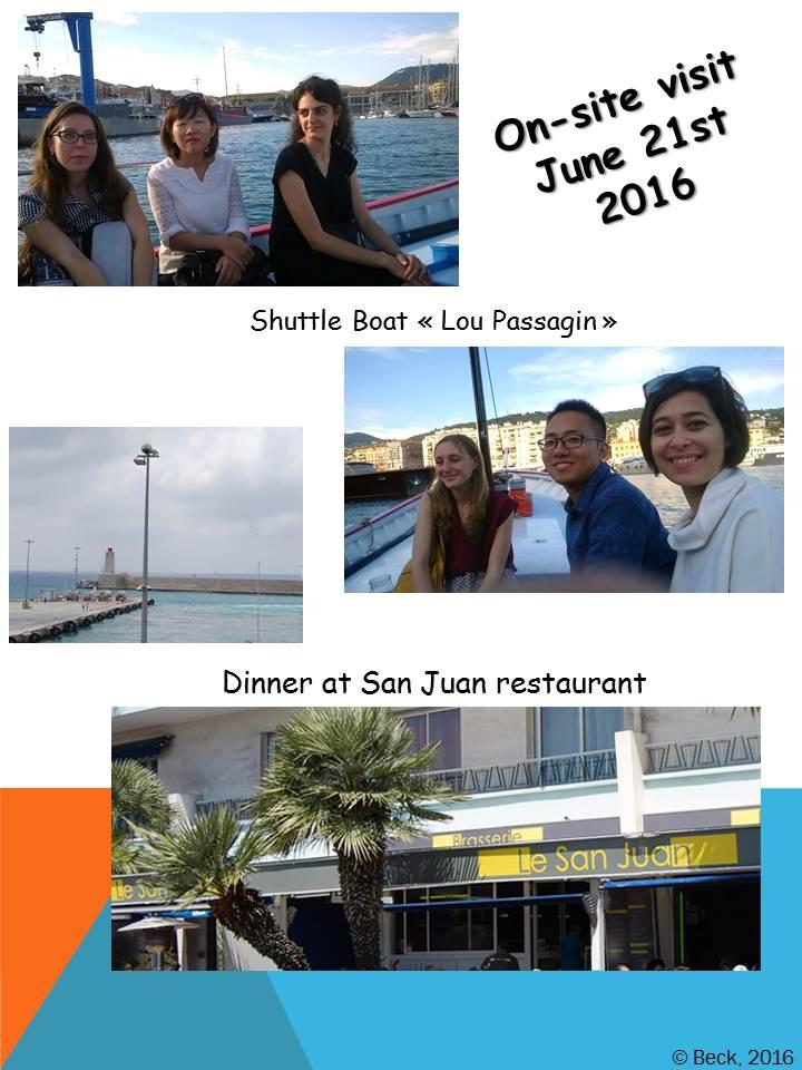 21st June 2016 on site visit 2