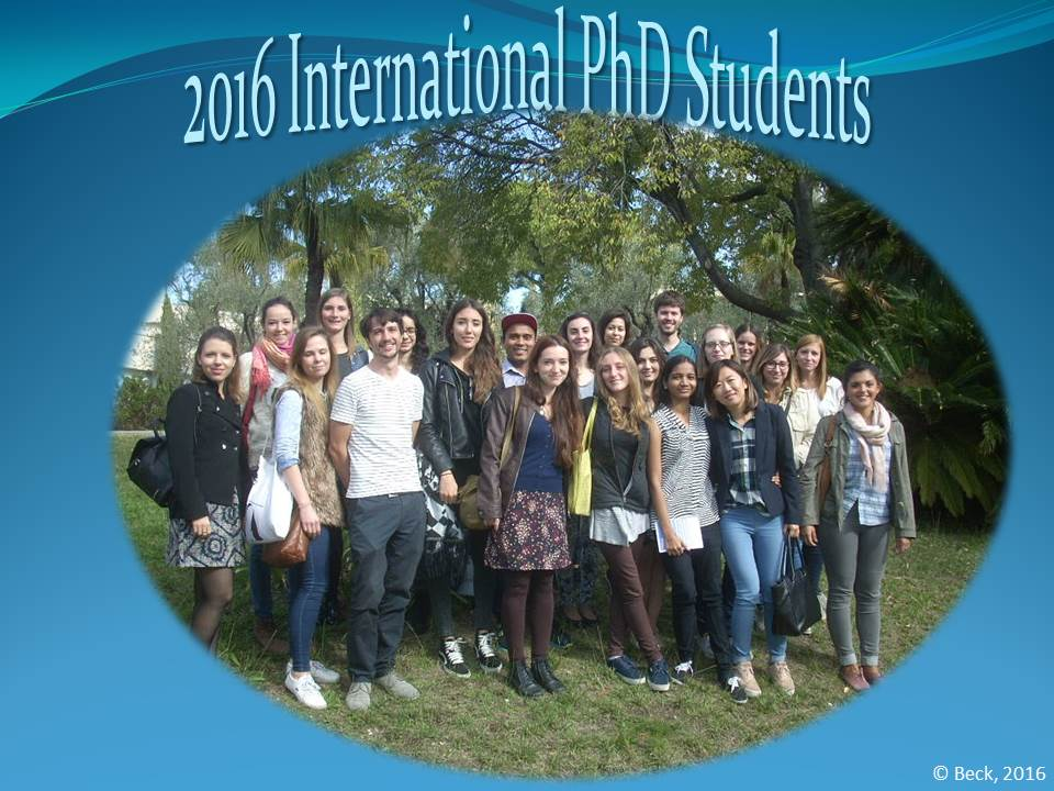 2016 PhD Students