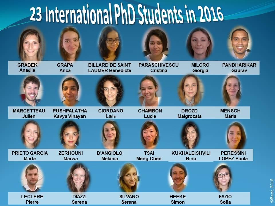 2016 PhD Students identité OK